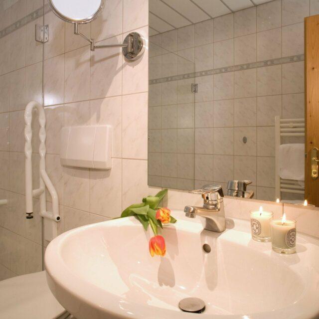 Badezimmer Appartement Tirol
