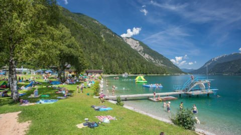 Badestrand in Pertisau