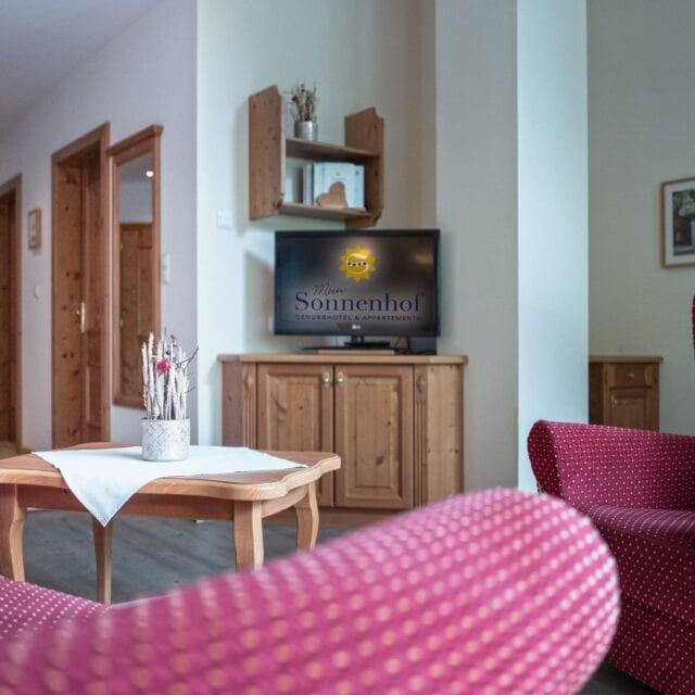 Wohnzimmer Panoramasuite - Wohnbeispiel 1